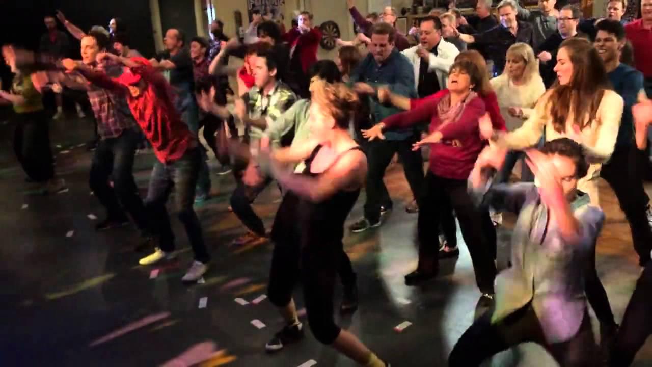 Flashmob Big Bang Theory