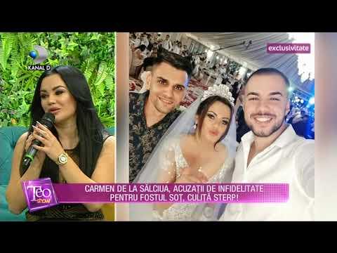 Teo Show (19.09.) - Carmen de la Salciua, acuzatii de infidelitate pentru fostul sot, Culita Sterp!