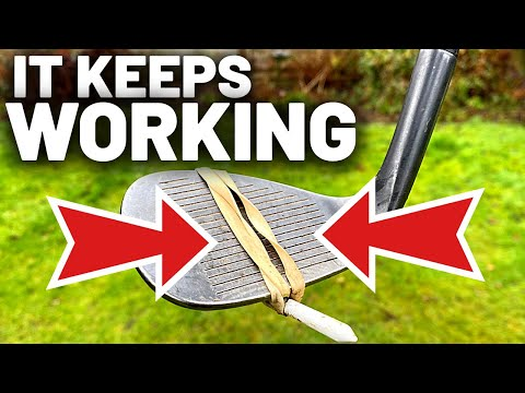 The GOLF DRILL that KEEPS ON WORKING THE WONDER DRILL