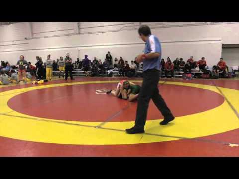 2015 Dino Invitational: 55 kg Hannah Franson vs. Erica Ravelo