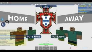 Roblox EURO 2016 the finals: silvergold23 roblox