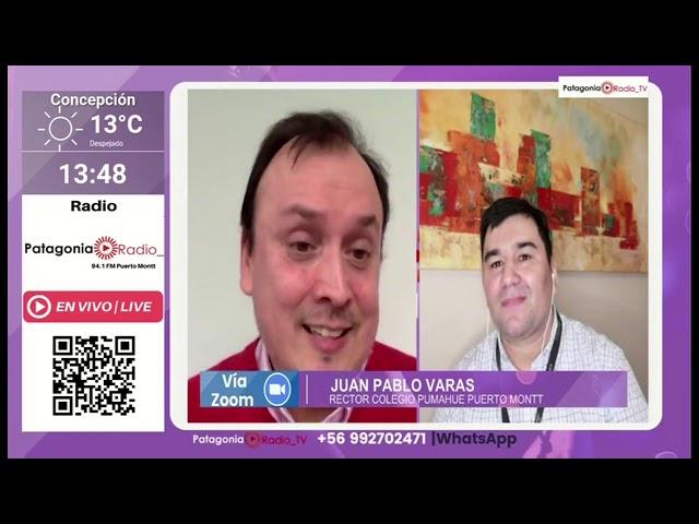 Entrevista al rector de Pumahue Puerto Montt - Patagonia TV