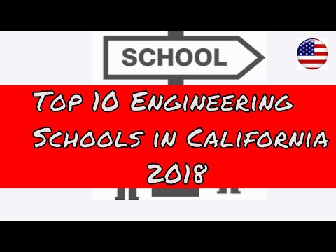 top engineering school in California | Best 10 universities | Colleges | 2018 |