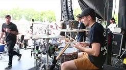 Counterparts - Stranger [Kyle Brownlee] Drum Cam (Van's Warped Tour 2017) [HD]