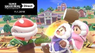 Live Reaction - 11.1.2018 Nintendo Direct ft. Salem