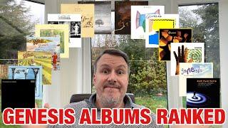Genesis Albums Ranked