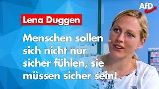AfD persönlich: Lena Duggen