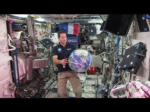 Thomas Pesquet : conférence de presse depuis l'ISS le 23 novembre 2016