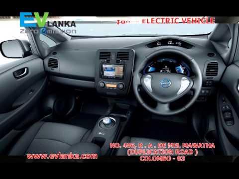 Nissan Leaf Ev Lanka Srilanka Youtube