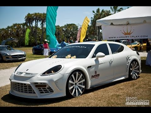 matte white mansory panamera turbo youtube