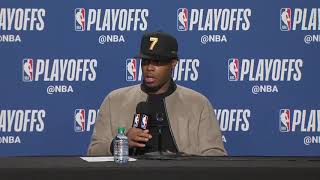 Kyle Lowry Postgame Interview - Game 7 | 76ers vs Raptors | 2019 NBA Playoffs