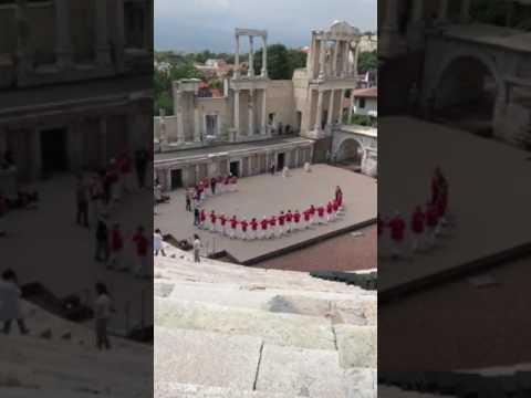 2017 BULGARIA TOUR:  SHIRTO in Roman Amphitheatre (Dimitar Mitko Petrov) - Ira Weisburd