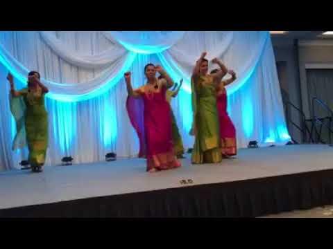 North America - Kodava Convention 2018 Cheriyamanel Ippuliya Kodava Song by our beautiful Ladies!!!
