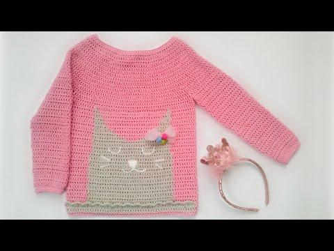 Кофта крючком / Crochet sweater / Jersey de ganchillo