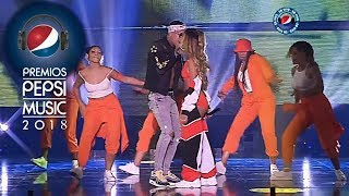 Corina Smith ❌ Neutro Shorty ❌ Big Soto - CANTANTE EN VIVO😈PREMIOS PEPSI MUSIC 2018 [Oficial Video]