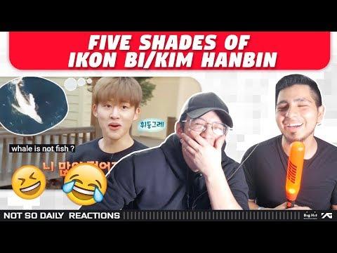 NSD REACT TO 'Five Shades of iKON's BI/Kim Hanbin' Mp3