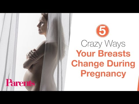 5 Crazy Ways Your Breasts Change During Pregnancy | Parents