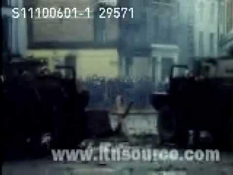 Bloody Sunday Footage 1972