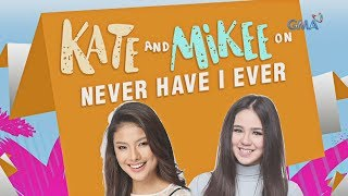 Kate Valdez and Mikee Quintos on Never Have I Ever