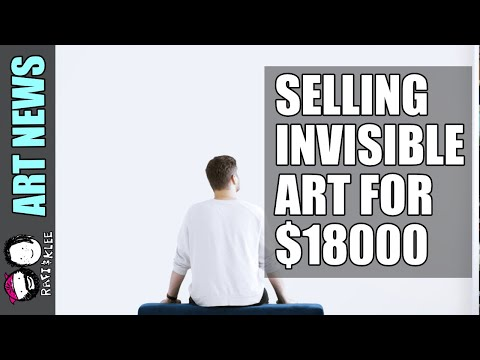 Invisible Sculpture? I Am Selling An Invisible Painting