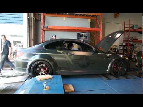 VF Engineering Supercharged Widebody E92 M3 Dyno