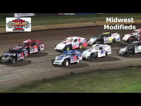 7-30-2016 Midwest Modifieds Cedar Lake Speedway