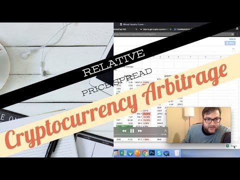 Cryptocurrency Relative Price Spread Arbitrage Trading Strategies Using Coinmarketcap