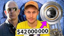 Miksi maailman rikkain mies rakentaa jättikelloa vuoren sisälle?