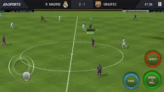 Fifa 17 Mobile | Barcelona Vs Real Madrid |
