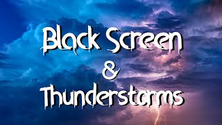 Download Black Stormy Moonless Night Rain and Thunderstorm Sounds for Sleeping Black Screen Mp3 and Videos