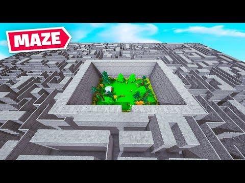 *NEW* MAZE RUNNER Map In Fortnite!