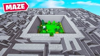 *NEW* MAZE RUNNER Map In Fortnite!
