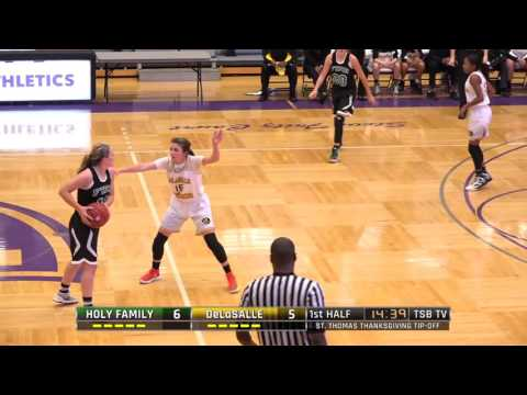 High School Girls Basketball: Holy Family Catholic vs. DeLaSalle