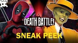 Deadpool vs The Mask | DEATH BATTLE! SNEAK PEEK sub español