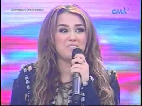 Miley Cyrus on Eat Bulaga in Philippines