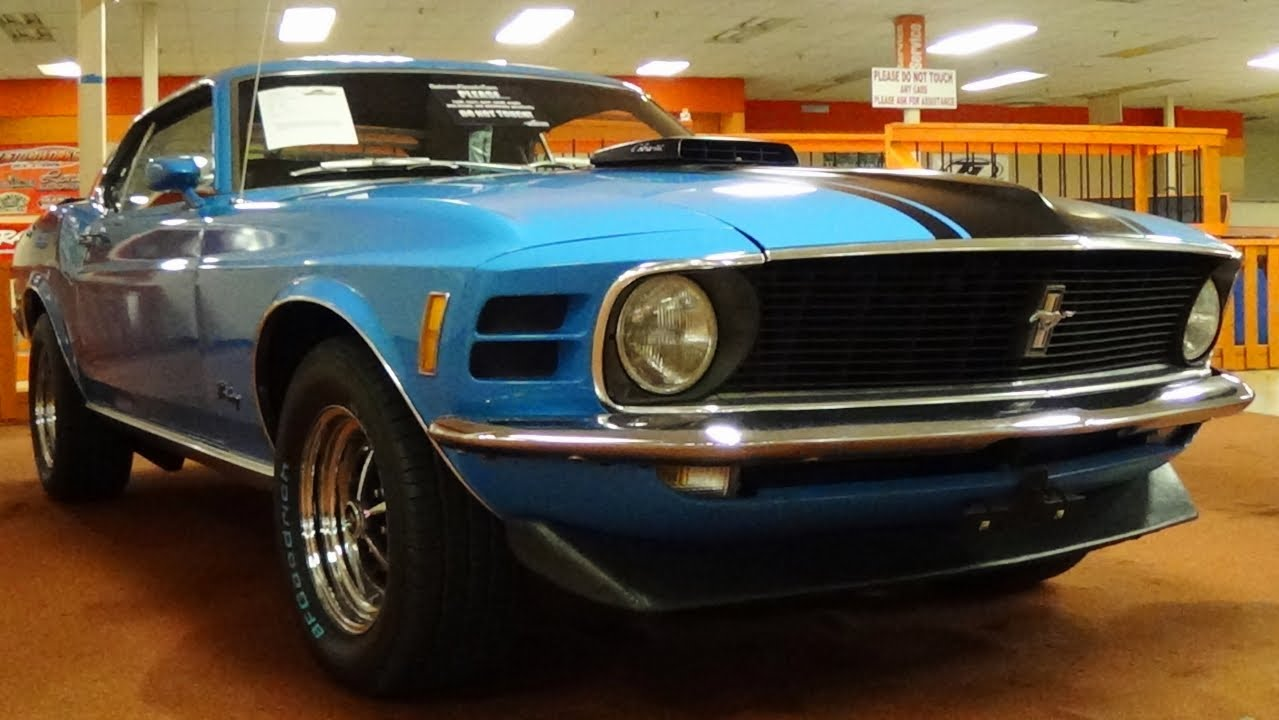 1970 Ford Mustang 428 Cobra Jet Fastback Youtube Gt