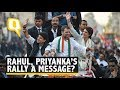 Congress Will Play on Front Foot: Rahul Gandhi at Priyanka's UP Rally | The Quint