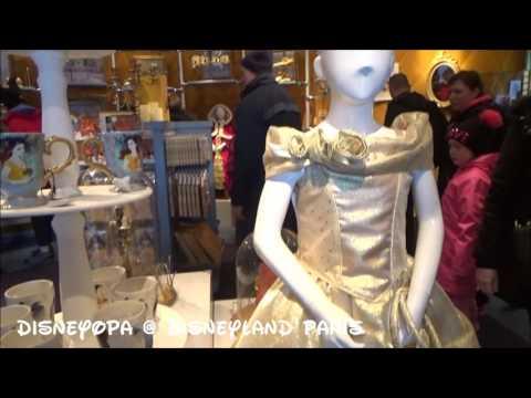 Disneyland Paris The Disney Animation Gallery Shop walkthrough 2017 DisneyOpa