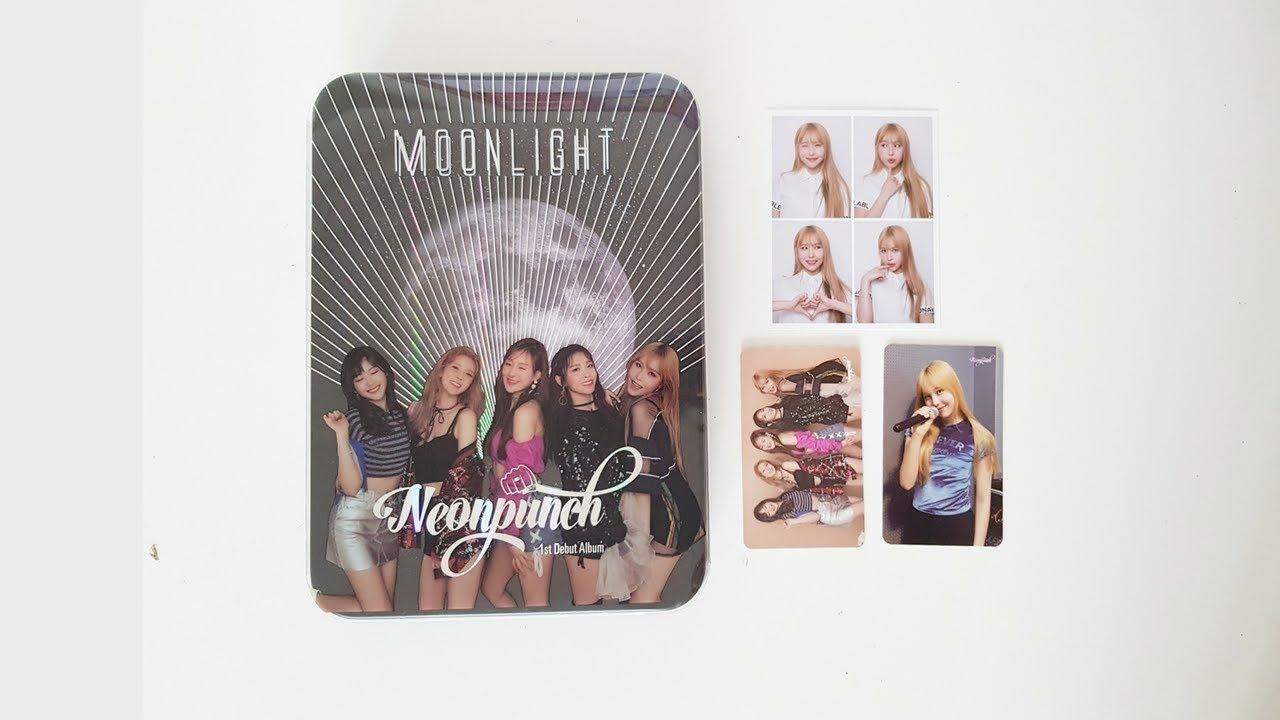 """NeonPunch /""""Moonlight/"""" Mini-Album"""