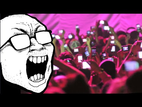 Are phones destroying shows / concerts? Mp3