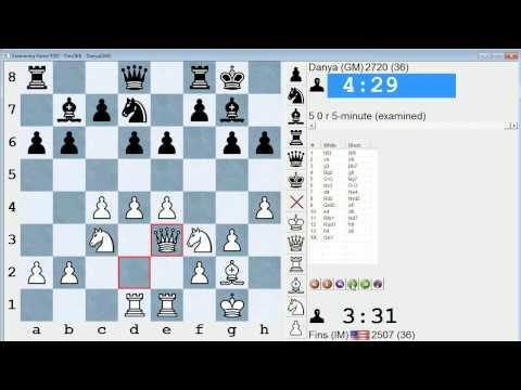 Blitz Chess #109: IM Bartholomew vs. GM Naroditsky (English Opening)