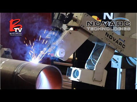 Novarc Technologies: World's First Collaborative Welding Robot