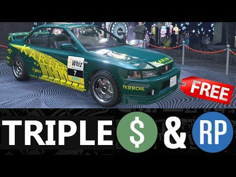 GTA 5 - Event Week - TRIPLE MONEY & Discounts (Property & Vehicle)