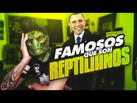 FAMOSOS QUE SON REPTILIANOS