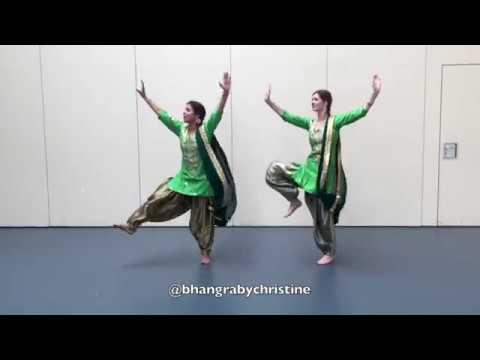 BHANGRA GIDDHA - Nimrat Khaira | Bhangra by Christine | Easy Bhangra choreo | Sabine Singh