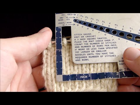 [KnitFreedom] How to Check Your Gauge in the Round - Magic Loop