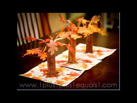 Easy DIY fall craft ideas for preschoolers