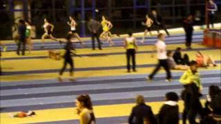 Aline - 800m aux championnats régionaux à Eaubonne - 2 février 2013