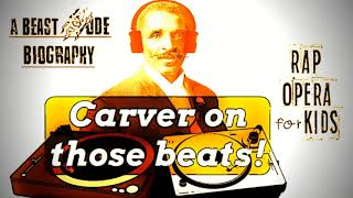 George Washington Carver Biography Song for Kids with Sequence of Events Worksheets