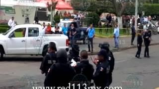 JACONA Se enfrentan policías de la PGR contra presuntos delincuentes; hay 2 muertos
